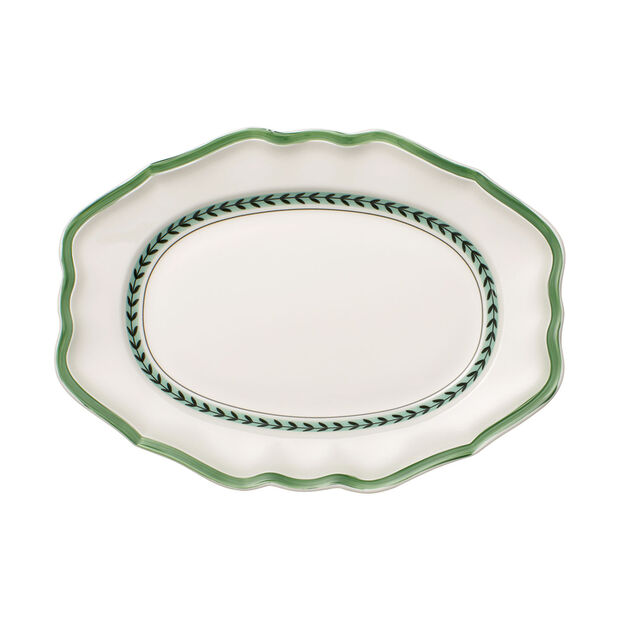 French Garden Green Line piatto ovale, , large