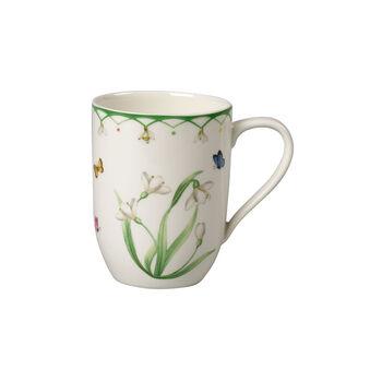 Colourful Spring taza grande de café