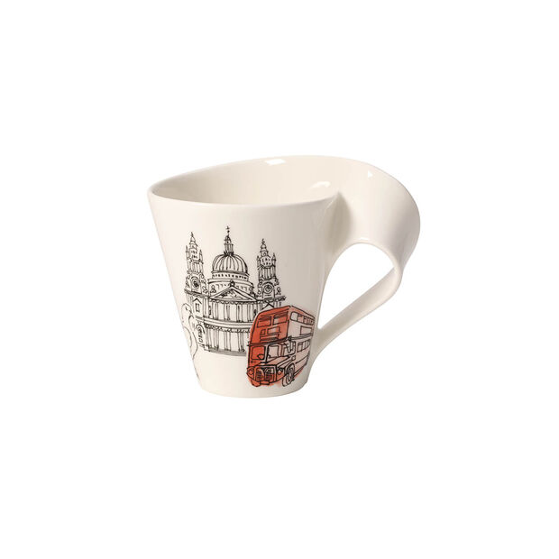 Cities of the World taza grande de café London, , large