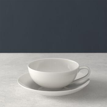 For Me taza de té con platillo set de 2 piezas
