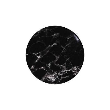 Marmory piattino per tazza da caffè Black, 16x16x2cm