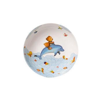 Happy as a Bear Piatto fondo bambini 18,5x18,5x4,5cm