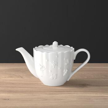 Toy's Delight Royal Classic caffettiera, bianco, 1 l