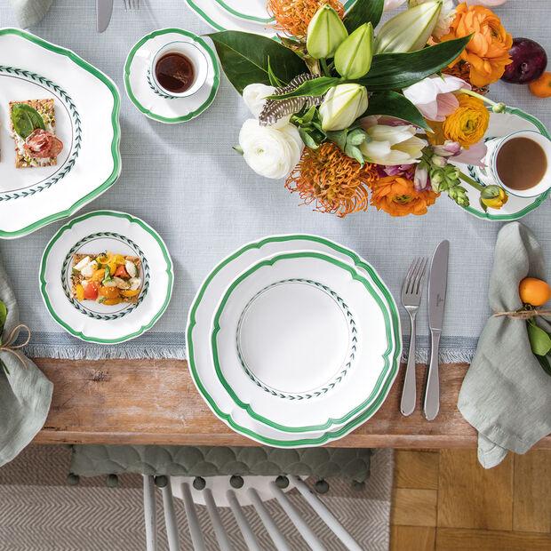 French Garden Green Line piatto fondo, , large