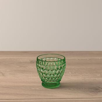 Boston Coloured Vaso de chupito Green