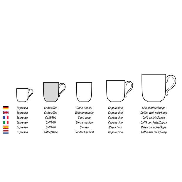 Manufacture Rock Blanc tazza da caffè, bianco, 10,5 x 8 x 7,5 cm, , large