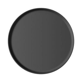 Iconic piatto universale, nero, 24 x 2 cm