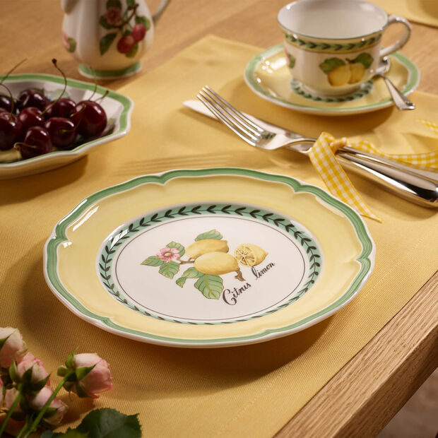 French Garden Valence plato postre, , large