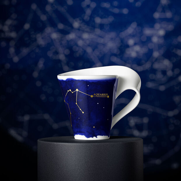 NewWave Stars tazza Acquario, 300 ml, blu/bianco, , large