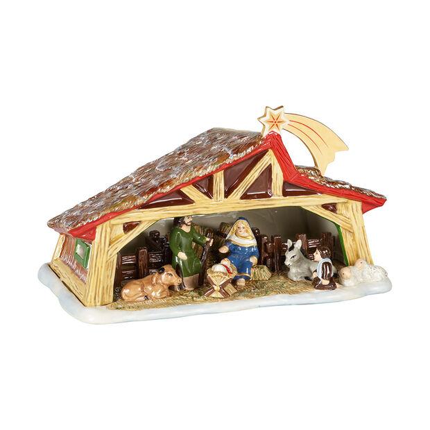 Christmas Toy's Memory presepe, multicolore, 27 x 16 x 16 cm, , large