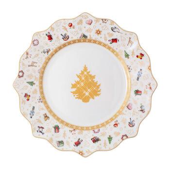 Toy's Delight piatto da colazione, edizione anniversario, multicolore/oro/bianco