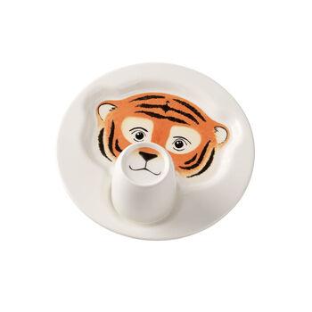 Animal Friends Piatto con mug, tigre 22cm