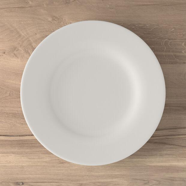 Twist White plato llano, , large