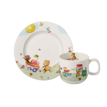 Hungry as a Bear Set da colazione per bambini, 2pz