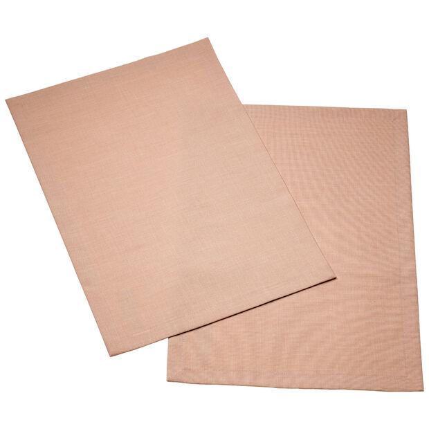 Textil Uni TREND Salvamanteles rose peony Set 2 35x50cm, , large
