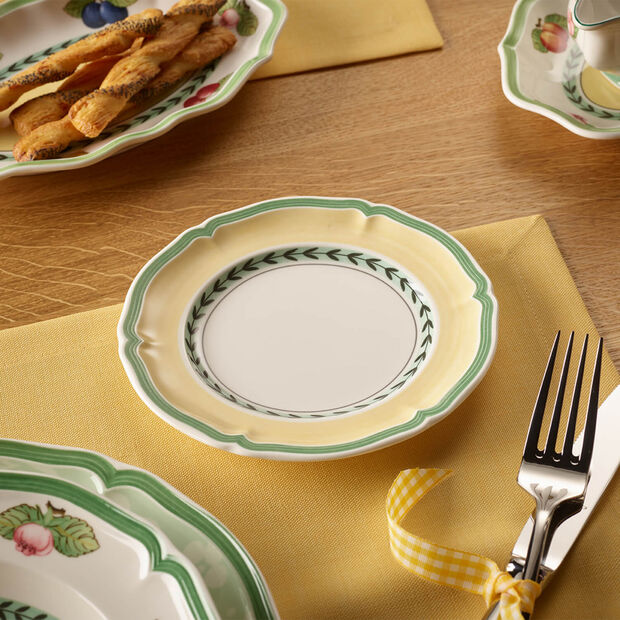 French Garden Vienne plato fruta/queso/pan, , large