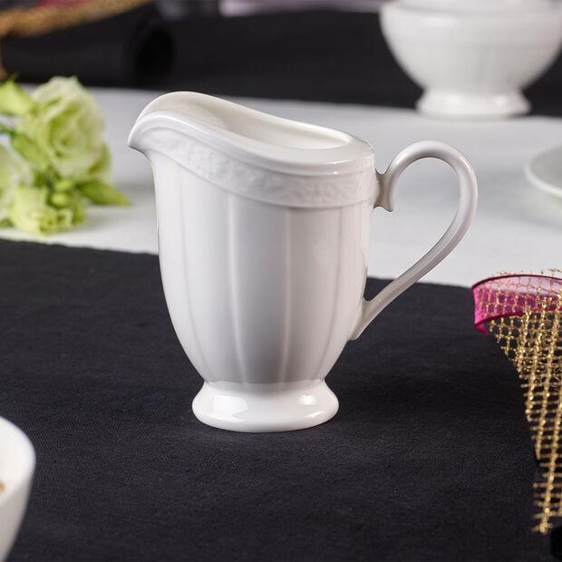 White Pearl bricco per latte 6 pers., , large