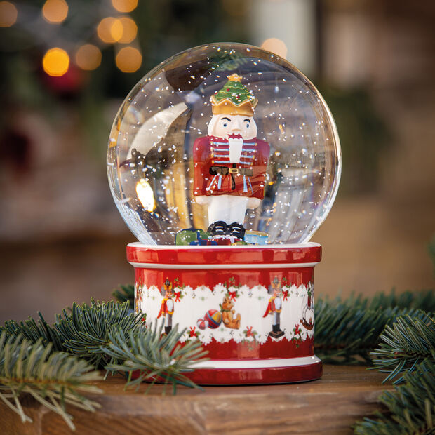 Christmas Toys Bola de nieve grande, 2021 13x13x17cm, , large