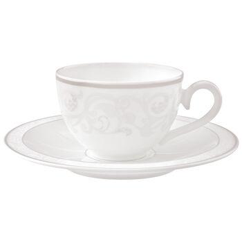 Gray Pearl Tazza caffè/tè con piattino 2pz.