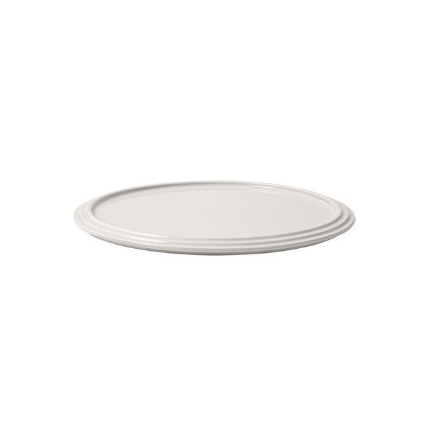 Iconic piatto da portata, bianco, 24 x 1 cm, , large