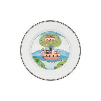 Design Naif plato de desayuno con motivo de arca de Noé