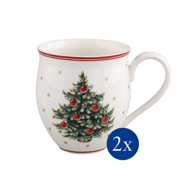 Toy's Delight Mug con manico 2 pz. Albero di Natale20x9x12cm, , large