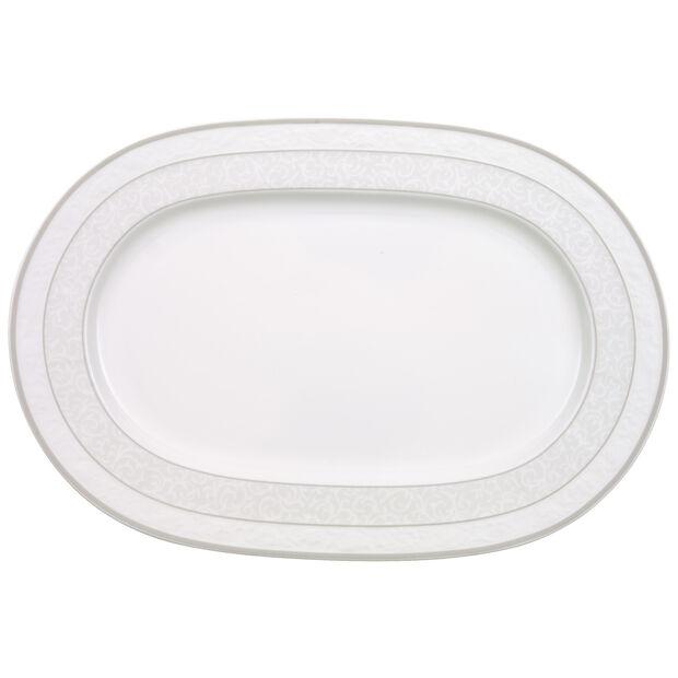 Gray Pearl piatto ovale 35 cm, , large