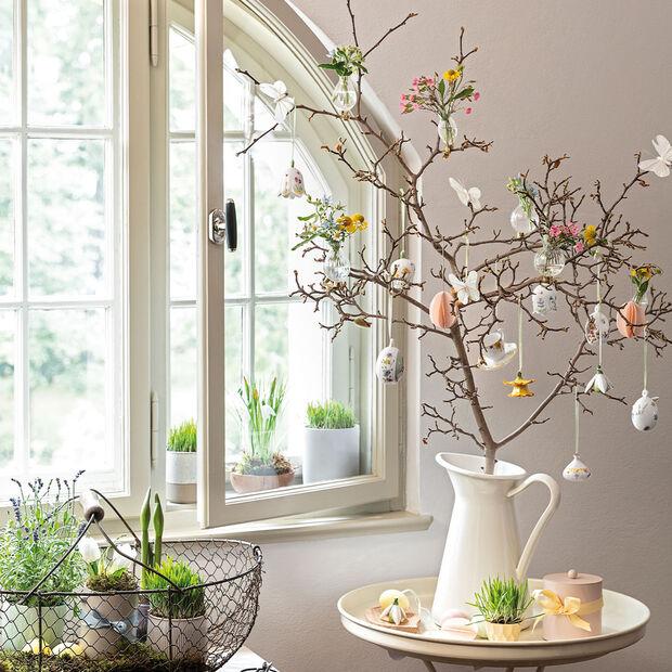 Spring Awakening Set da caffè da decorazione, 3 pezzi , giallo/multicolore, , large