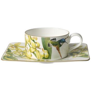 Amazonia Taza té con plato