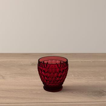 Boston Coloured Bicchiere da shot Red