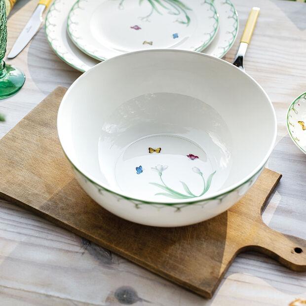 Colourful Spring insalatiera piccola, 2,5 l, bianco/verde, , large