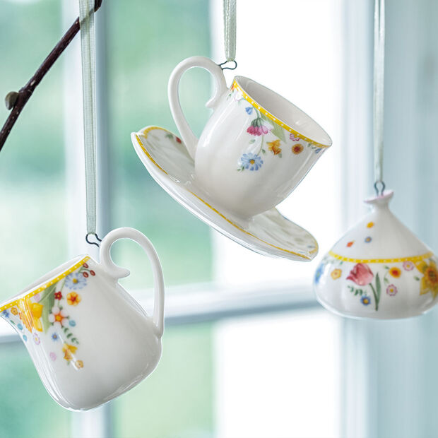 Spring Awakening ornamentos para set de café, 3 artículos, amarillo/varios colores, , large