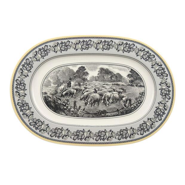 Audun Ferme Piatto ovale (3) 34cm, , large