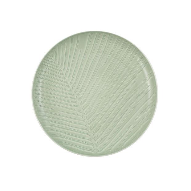 it's my match piatto Leaf, 24 cm, verde minerale, , large