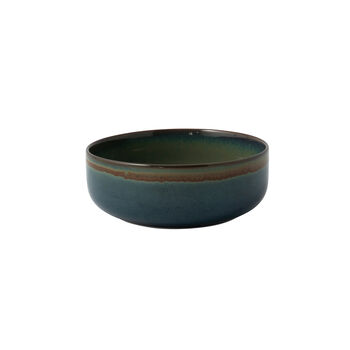 Crafted Breeze bol, gris azulado, 16 cm