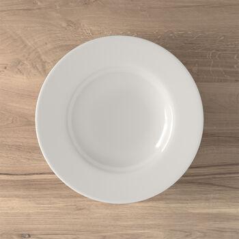 Twist White piatto fondo