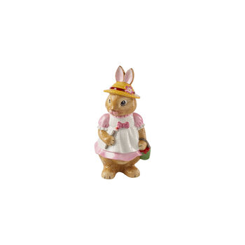 Bunny Tales figura grande Anna, 10,5 x 11 x 22 cm, rosa/marrón