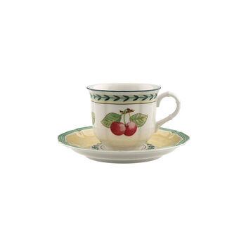 French Garden Fleurence taza café con plato de 2 piezas