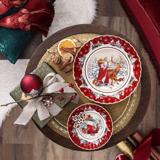 Toy's Fantasy ciotola piccola stivale, multicolore/rossa/bianca, 16 x 16 x 3 cm, , large