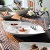 New Cottage Special Serve Salad piatto da portata 50x30 cm, , large