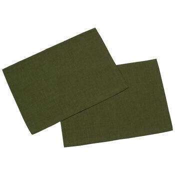 Textil Uni TREND Tovaglietta verde scu.2pz 35x50cm