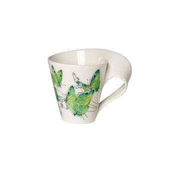 NewWave Caffè Deep green hairstreak Bicchiere con manico(imballaggio regalo)