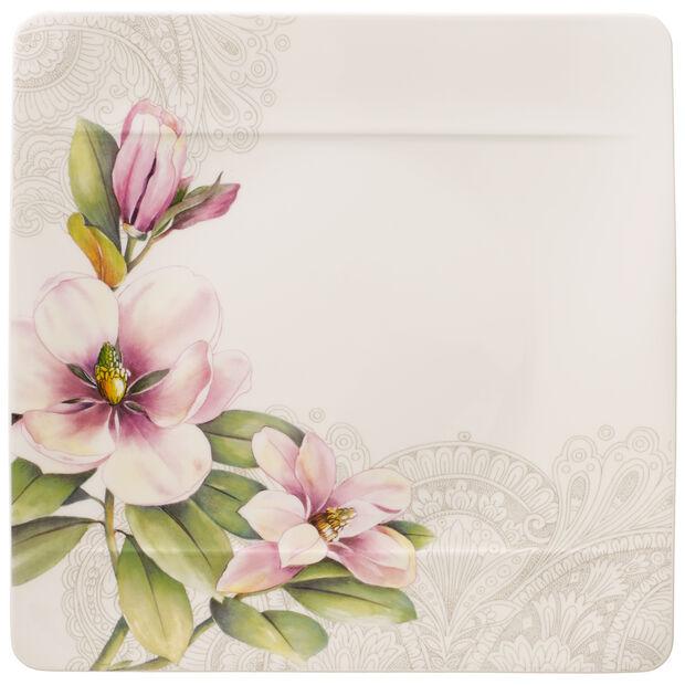 Quinsai Garden piatto piano Magnolia Motivo D, , large