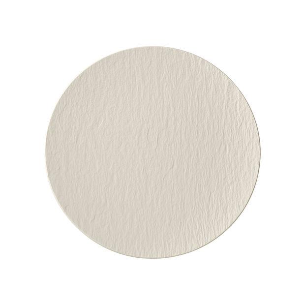 Manufacture Rock blanc Piatto universale coupe 25x25x2,8cm, , large
