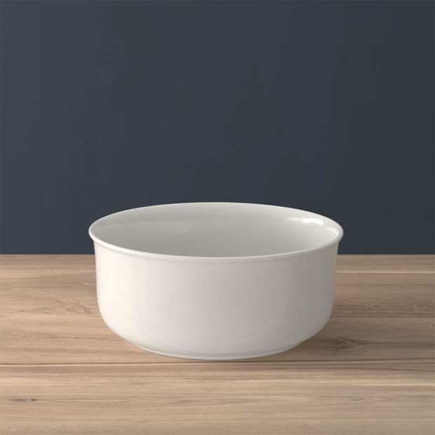 Twist White ciotola rotonda, , large