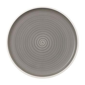 Manufacture gris piatto da pizza