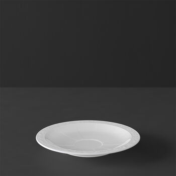 White Pearl piattino per tazza da espresso