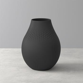 Manufacture Collier noir Vaso Perle alto 16x16x20cm