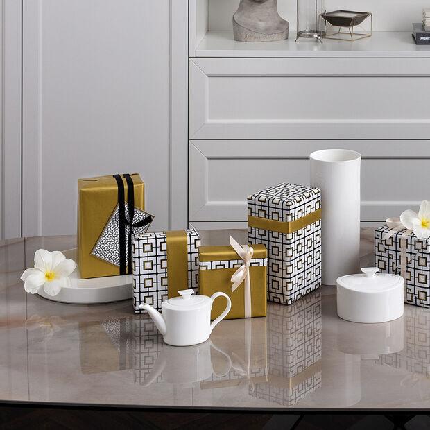 MetroChic blanc Gifts Coppa di portata / decorativo 33x33x4cm, , large