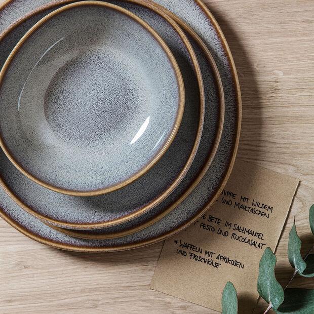 Lave Beige piccola ciotola piana, beige, 22 x 21 x 4,2 cm, , large